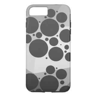 Capa iPhone 8 Plus/7 Plus Multi lapidado/teste padrão de ponto