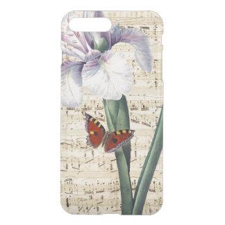 Capa iPhone 8 Plus/7 Plus música da íris e da borboleta