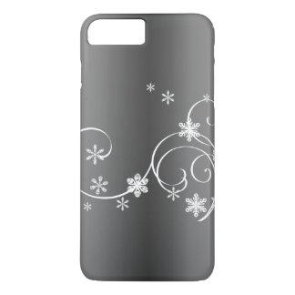 Capa iPhone 8 Plus/7 Plus Natal cinzento metálico