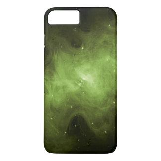 Capa iPhone 8 Plus/7 Plus Nebulosa de caranguejo, resto do Supernova, luz