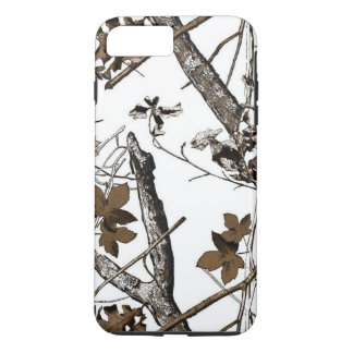 Capa iPhone 8 Plus/7 Plus Neve Camo da folha