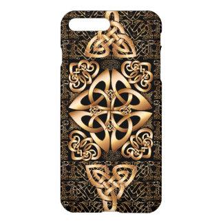 Capa iPhone 8 Plus/7 Plus Nó celta no preto
