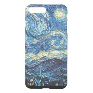 Capa iPhone 8 Plus/7 Plus Noite estrelado iPhone7 mais o caso claro