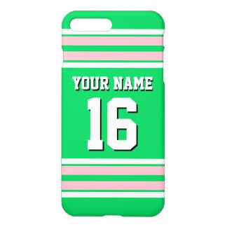Capa iPhone 8 Plus/7 Plus Nome feito sob encomenda do número do jérsei de