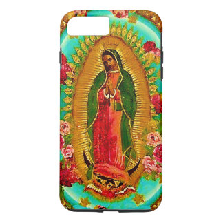 Capa iPhone 8 Plus/7 Plus Nossa Virgem Maria mexicana do santo da senhora