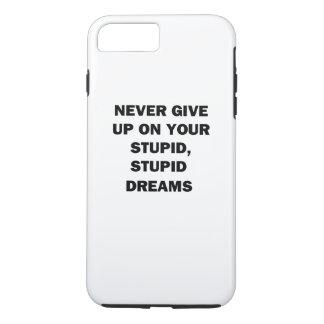 Capa iPhone 8 Plus/7 Plus Nunca dê acima