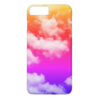 Capa iPhone 8 Plus/7 Plus Nuvens tropicais do arco-íris