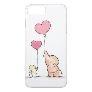 Capa iPhone 8 Plus/7 Plus O amor está no ar