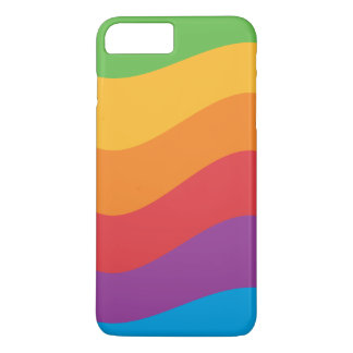 Capa iPhone 8 Plus/7 Plus O arco-íris colore a caixa de Apple