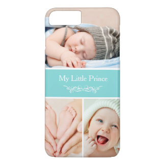 Capa iPhone 8 Plus/7 Plus O bebê chique elegante caçoa a colagem da foto