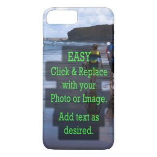 Capa iPhone 8 Plus/7 Plus O clique simples e substitui a imagem para fazer