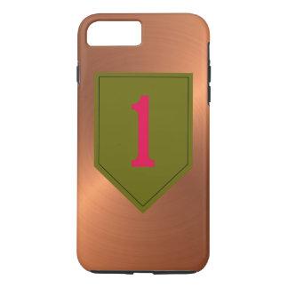 """Capa iPhone 8 Plus/7 Plus ø Divisão de infantaria """"o vermelho grande um """""""