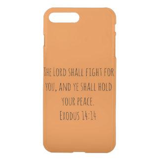 Capa iPhone 8 Plus/7 Plus O fundo da laranja do senhor Dever Luta Para Você