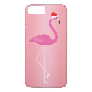 Capa iPhone 8 Plus/7 Plus O iPhone 7 do flamingo do feriado em aumentou