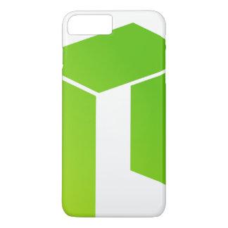 Capa iPhone 8 Plus/7 Plus O iPhone cripto NEO à moda/Samsung cobre (nenhum