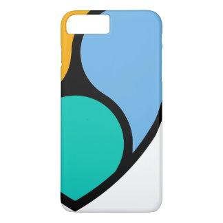 Capa iPhone 8 Plus/7 Plus O iPhone NEM cripto/Samsung do na moda cobre