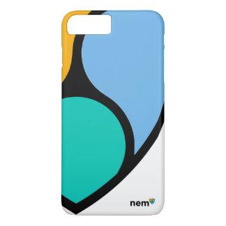 Capa iPhone 8 Plus/7 Plus O iPhone NEM cripto/Samsung do na moda cobre (o