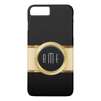 Capa iPhone 8 Plus/7 Plus O monograma de homens de negócio