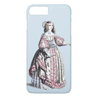Capa iPhone 8 Plus/7 Plus O ~ TRAJA o ~ Catherine do ~ 1666 do ~ de Portugal