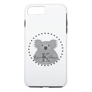 Capa iPhone 8 Plus/7 Plus O urso de Koala australiano bonito adiciona seu