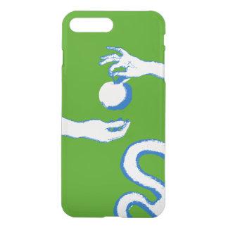 Capa iPhone 8 Plus/7 Plus O verde da véspera de Apple Adam do esboço do