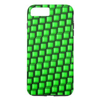 Capa iPhone 8 Plus/7 Plus O verde esquadra o caso positivo do iPhone 7