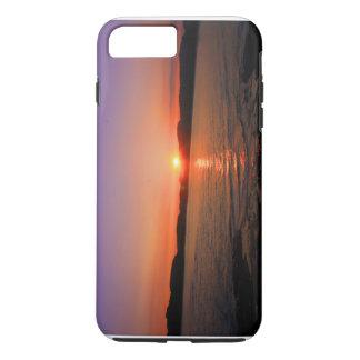 Capa iPhone 8 Plus/7 Plus oceano do por do sol