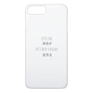 Capa iPhone 8 Plus/7 Plus off line, namorado do animal de estimação