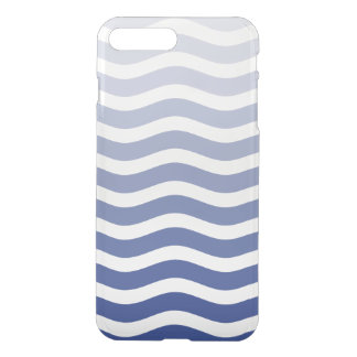 Capa iPhone 8 Plus/7 Plus Onda azul Ombre