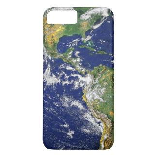 Capa iPhone 8 Plus/7 Plus Os Americas, como visto do espaço