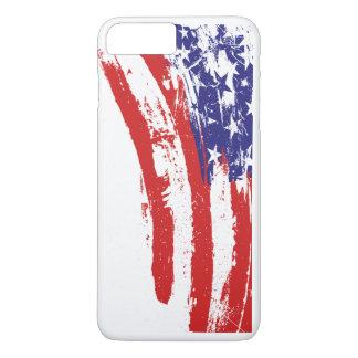 Capa iPhone 8 Plus/7 Plus Os Estados Unidos da América em casos do iPhone 8