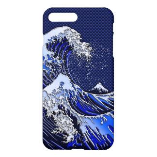 Capa iPhone 8 Plus/7 Plus Os grandes estilos da fibra do carbono do cromo da