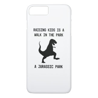 Capa iPhone 8 Plus/7 Plus Os miúdos são dinossauros