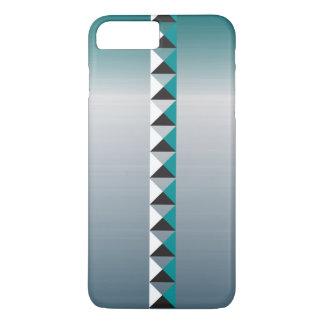Capa iPhone 8 Plus/7 Plus Os pontos e o falso da pirâmide escovaram de aço