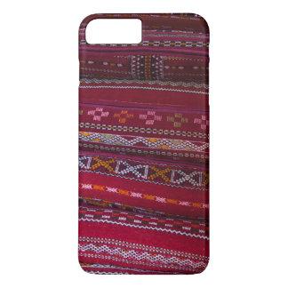 Capa iPhone 8 Plus/7 Plus Padrões do travesseiro de matéria têxtil