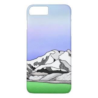 Capa iPhone 8 Plus/7 Plus Paisagem da montanha de Denali