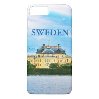 Capa iPhone 8 Plus/7 Plus Palácio de Drottningholm na suecia