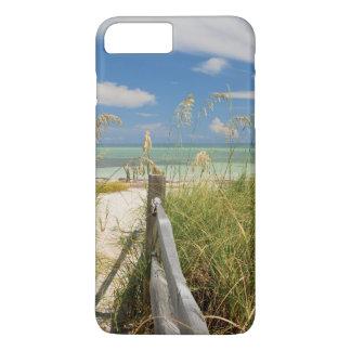 Capa iPhone 8 Plus/7 Plus Paniculata de Uniola da aveia do mar) que cresce