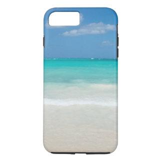 Capa iPhone 8 Plus/7 Plus Paraíso das caraíbas da praia