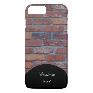 Capa iPhone 8 Plus/7 Plus Parede de tijolo - tijolos e almofariz misturados