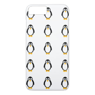 Capa iPhone 8 Plus/7 Plus Partido IPhone 7 do pinguim+/8+ Mal lá caso