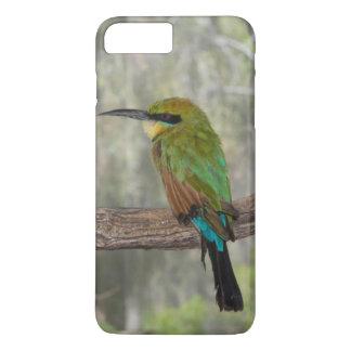 Capa iPhone 8 Plus/7 Plus Pássaro do abelha-comedor do arco-íris, Austrália