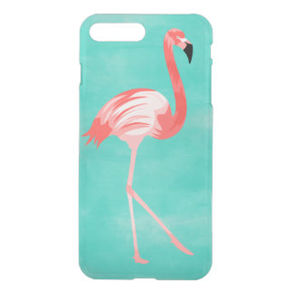 Capa iPhone 8 Plus/7 Plus Pássaro do flamingo