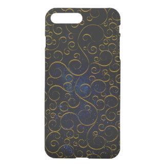Capa iPhone 8 Plus/7 Plus pattern.GOLD gótico
