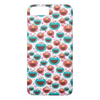 Capa iPhone 8 Plus/7 Plus Paz de Elmo & de monstro | do biscoito & teste