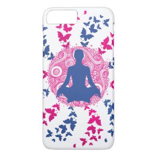 Capa iPhone 8 Plus/7 Plus paz de espírito positiva da energia da meditação