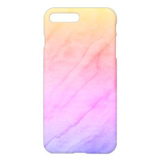 Capa iPhone 8 Plus/7 Plus Pedra da aguarela de Shell da madrepérola