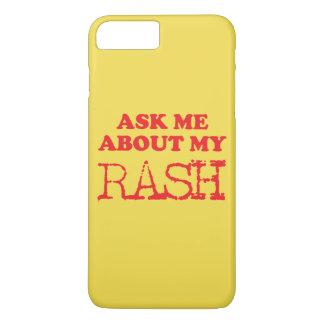 Capa iPhone 8 Plus/7 Plus Pergunte-me sobre meu prurido