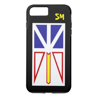 Capa iPhone 8 Plus/7 Plus Personalizado com bandeira de Terra Nova -