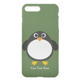 Capa iPhone 8 Plus/7 Plus Pinguim carnudo (customizável)